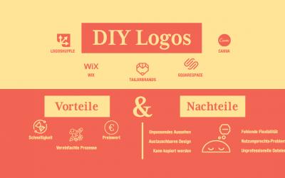 Vor-und Nachteile eines DIY-Logos
